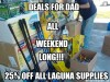 25% off all Laguna Supplies