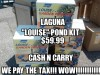 Laguna 'Louise' Pond Kit - $59.99 Cash and Carry - We PAY the Tax!