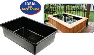 "Pond Basin - 42"" x 28.5"" x 12"" - 60 Gallons"