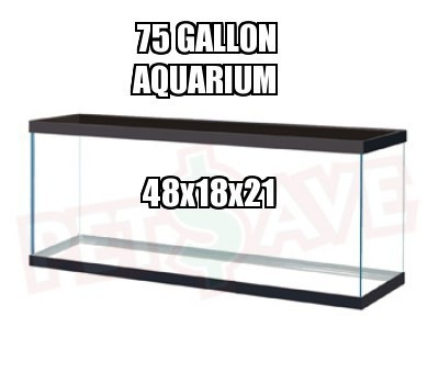 75 gallon tanks aqua animania For75 Gallon Fish Tank Dimensions