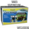 Tetra 10 Gallon Starter Aquarium Kit Now Only $38.99!