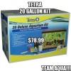 Tetra 10 Gallon Deluxe Aquarium Kit Now Only $78.99!