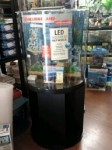 Marineland 30 Gallon Half Moon LED Aquarium Combo Kit!