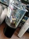 Marineland 30 Gallon Half Moon LED Aquarium Combo Kit!